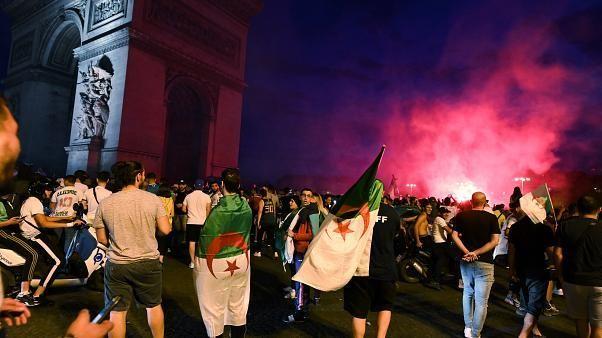 أعمال شغب في باريس بعد تأهل الجزائر إلى نصف نهائي الأمم الإفريقية