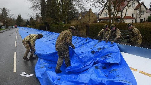 Two killed as U.K. hit with strong winds and flooding for a second straight weekend