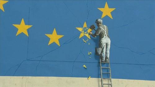 Banksy-Graffiti in Dover verschwunden