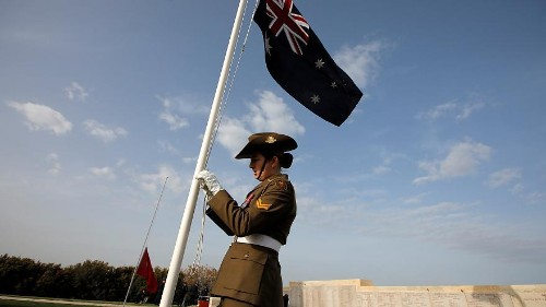 Australian and New Zealand citizens hold memorial services in Gallipoli