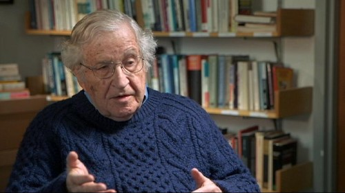 Chomsky says US is world's biggest terrorist