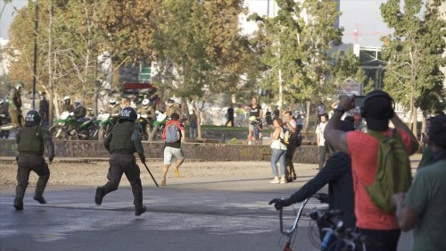 In Chile, protesters keep marching despite coronavirus