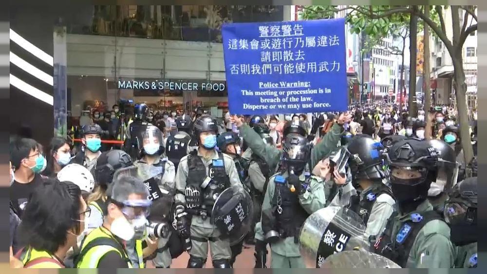 Вашингтон грозит Пекину новыми санкциями из-за Гонконга