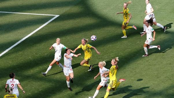 Sweden beat England 2-1 to take third place at Women's World Cup