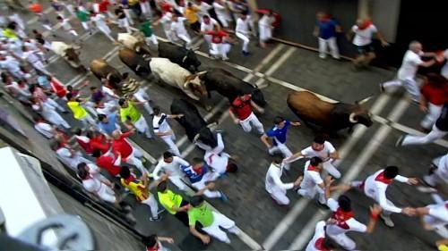 Corrida de Touros faz 5 feridos em Pamplona