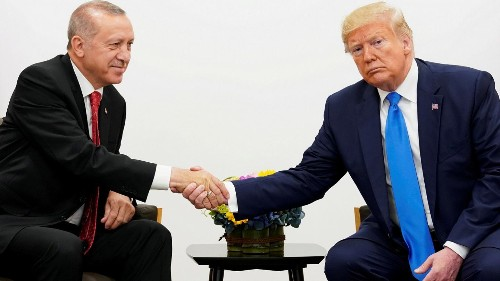 Turkey's Erdogan is playing Trump at their White House meeting ǀ View
