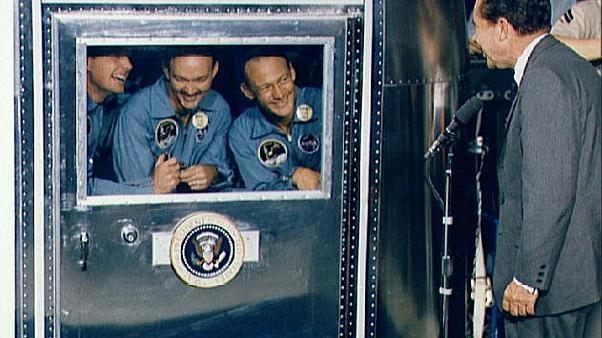 The speech Nixon prepared in case Apollo 11 ended in tragedy