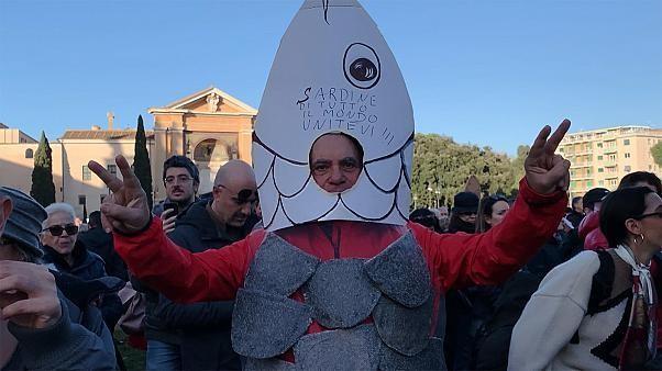 Quel cap prendront les sardines opposées à l'extrême-droite en Italie ?