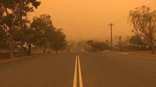 Australie : Broken Hill engloutie par une tempête de sable