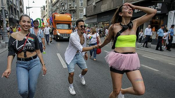 Thousands march in Romanian capital's pride parade
