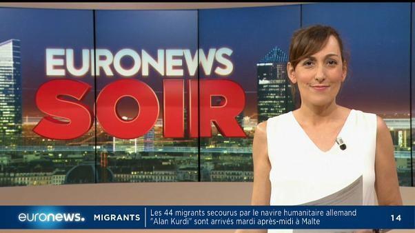 #Euronews Soir : l'actualité du mardi 9 juillet 2019