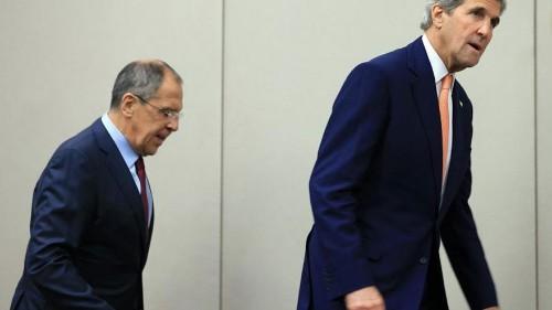 كيري ولافروف يتوصلان إلى هدنة في سوريا قد تتطور إلى سلام