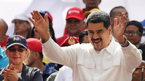 Maduro blames the United States as power cuts grip Venezuela