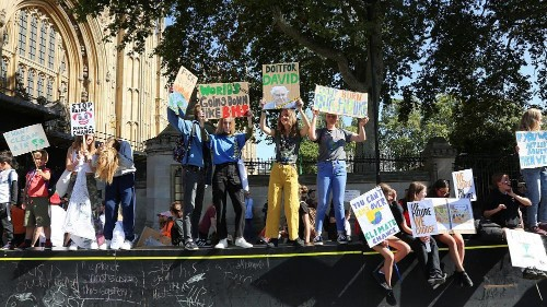 'The oceans are rising and so are we': Global Climate Strike London