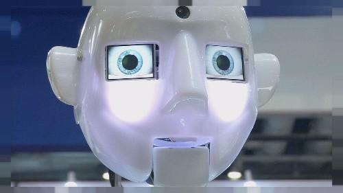 Robotların insan hayali bu fuarda