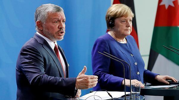 المستشارة الألمانية ترفض إعلان نتنياهو ضمّ الأغوار والعاهل الأردني يحذّر