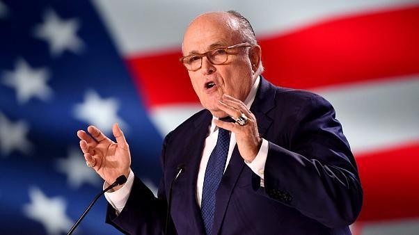 Giuliani wanted visa for ex-Ukraine lawman