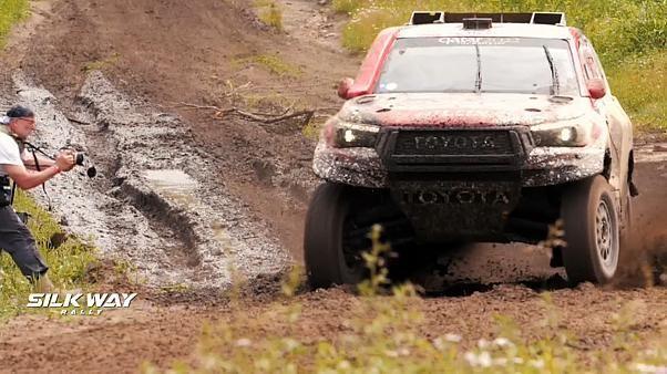 Silk Way Rallye 2019 - Fahrstil wird komplizierter