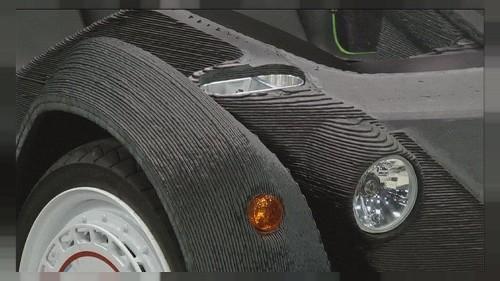 İlk 3D otomobil Strati satışa sunuluyor