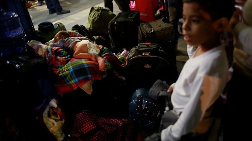In pictures: Venezuelan exodus nearing a 'crisis point'