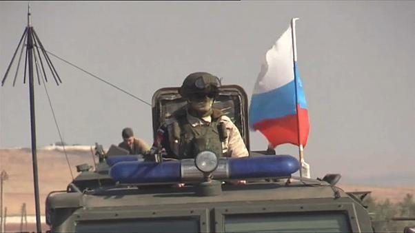 Beginn der russischen Militärstreifen in Nordsyrien