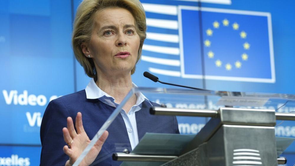 Ursula von der Leyen apresenta plano de recuperação económica para a UE