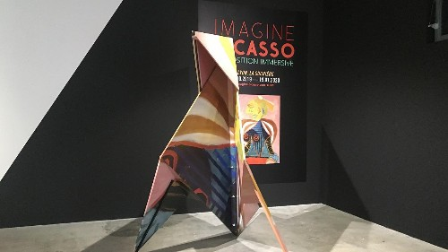 Imagine Picasso: Immersive installation takes visitors on a 'poetic voyage' through his art