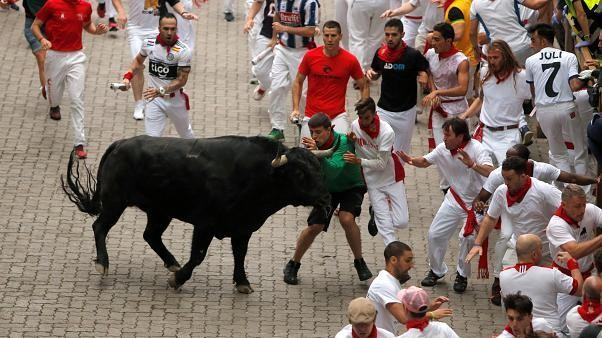 Panic on first day of Spanish festival as bulls gore three people