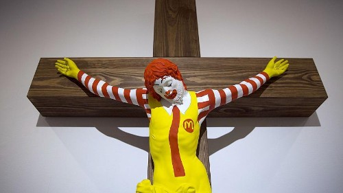 'McJesus' sculpture sparks outrage in Israel