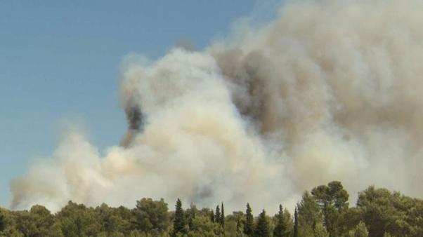 Incendie à Argelès-sur-Mer : 2500 vacanciers évacués