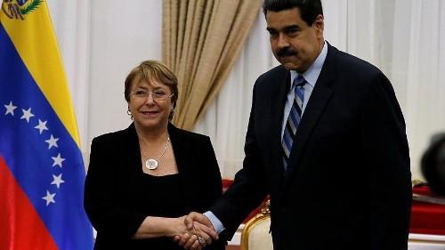 Hoffnung für die inhaftierten Oppositionellen in Venezuela? #UNO #michellebachelet