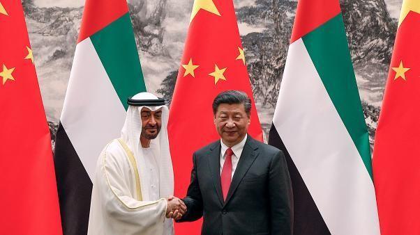 بن زايد من الصين: الإمارات حريصة على سلامة الملاحة الدولية في الخليج