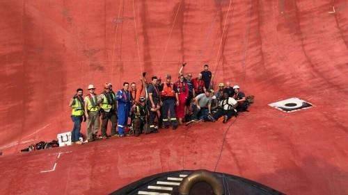 دون تعليق في أسبوع: إنقاذ طاقم سفينة شحن وإحياء ذكرى 11سبتمبر