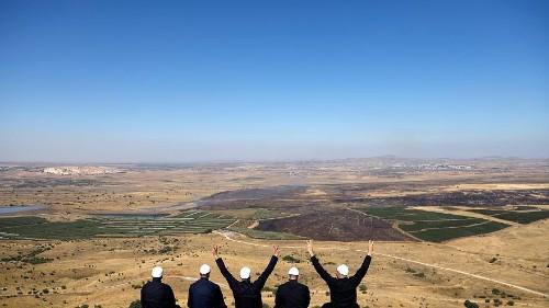 Outcry as Trump backs Israeli sovereignty over Golan Heights