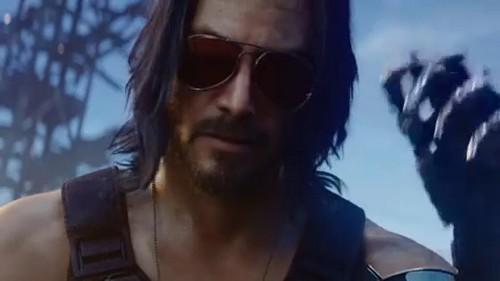 "Keranu Reeves em ""Cyberpunk 2077"""