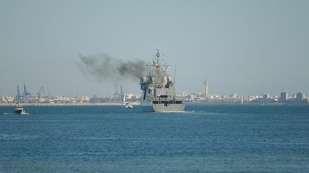 Watch live: Spanish warship Audaz arrives off Lampedusa coast to collect 15 migrants