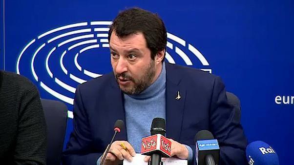 """Salvini a Strasburgo: """"rinegozieremo le regole europee"""""""