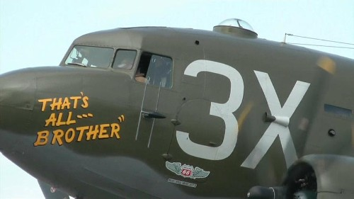 Watch: D-Day plane saved from scrap returns to Europe for 75th anniversary