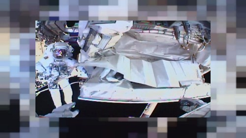 'We did it': NASA astronauts complete spacewalk to fix cosmic ray detector