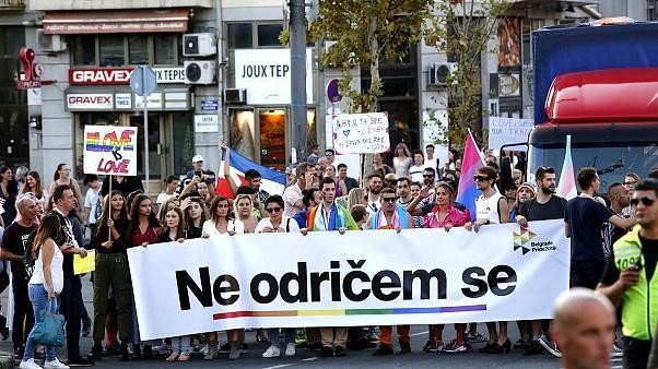 Belgrade Pride: We're 'not giving up' on LGBT rights
