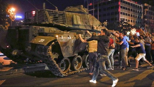 Turkey coup attempt: what happened