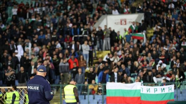 Euro 2020 qualifier match between England and Bulgaria halted over racist chants from stands