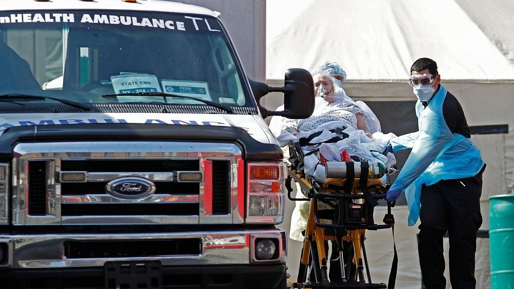 USA's deadliest day: More than 1,700 fall victim to COVID-19 on Tuesday