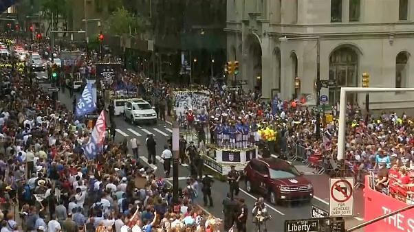 New York feiert US-Weltmeisterinnen