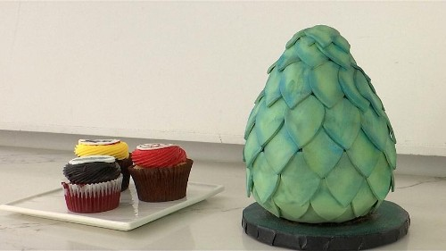 New York bakeries surf the Game of Thrones trend with cakes