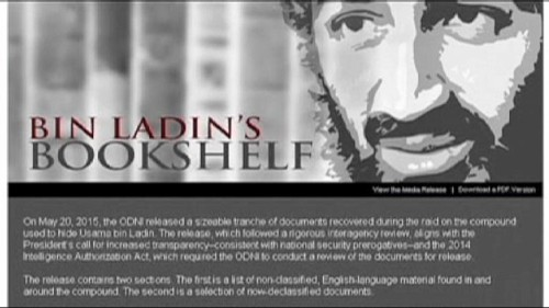 Estados Unidos desclasifica una serie de documentos secretos de Bin Laden