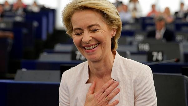 Ursula von der Leyen's tight victory greeted with delight — and dismay