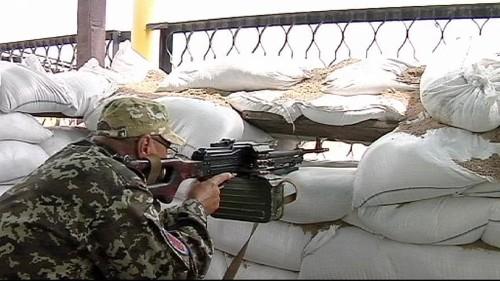 """Front in der Ostukraine: """"Die prorussischen Truppen rotieren"""""""