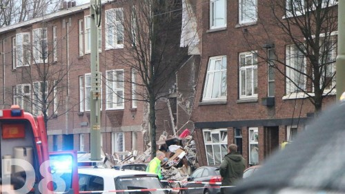 At least nine people injured as homes collapse in explosion in the Hague