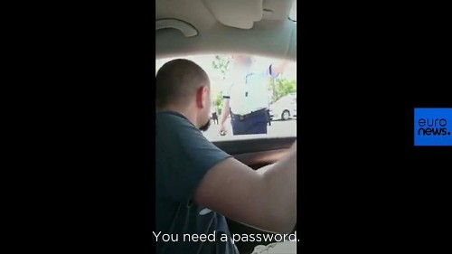 Locals in Romania asked for password to enter their own city